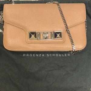 Proenza Schouler wallet on a chain